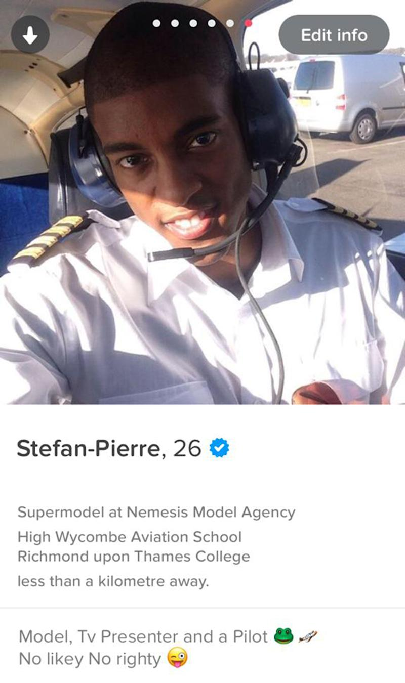 Stefan Pierre-Tomlin, 29, is also a trained pilot. [Photo: Caters]