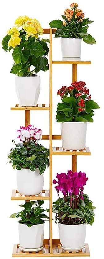 <p>If you're a plant parent, you'll need the <span>Bamboo Plant Stand Rack 5 Tiers</span> ($36). You can store your potted plants, herbs and veggies, and more. </p>