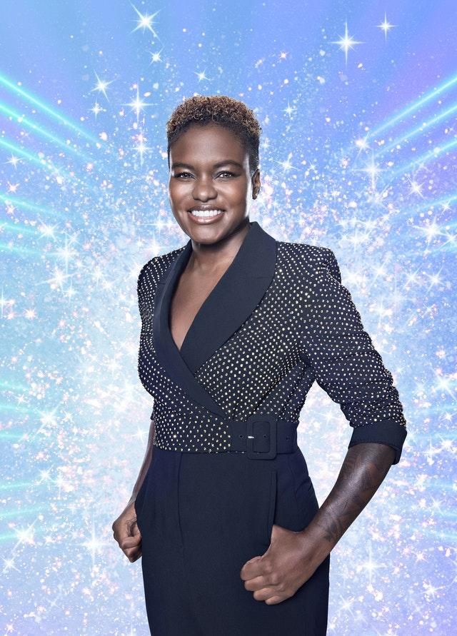 WInkleman welcomed news that Olympic boxer Nicola Adams will be part of the fist same-sex pairing on this year's Strictly Come Dancing (BBC/PA).