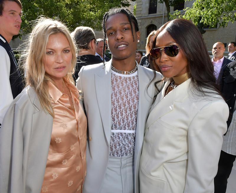 a25bd85c1b Kim Jones' Crew, Including Kate Moss and Lily Allen, Pack in to Dior Homme  Show