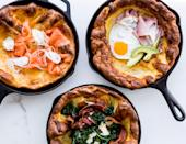 """Is there any time of day when a pancake isn't welcome at the table? What about a Savory Dutch Baby that mixes up in seconds? Didn't think so. <a href=""""https://www.bonappetit.com/recipe/savory-dutch-baby?mbid=synd_yahoo_rss"""" rel=""""nofollow noopener"""" target=""""_blank"""" data-ylk=""""slk:See recipe."""" class=""""link rapid-noclick-resp"""">See recipe.</a>"""