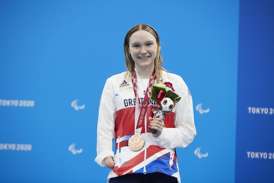 Scottish swimmer Shaw won bronze in the 400m Freestyle S9 on Wednesday (Picture: Imagecomms)
