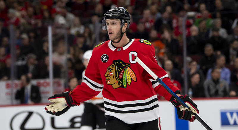 It looks like tough sledding for the Blackhawks in 2019-20. (Patrick Gorski-USA TODAY Sports)