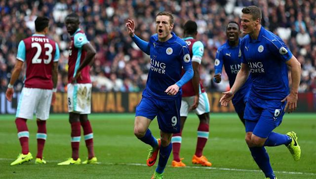 <p>What a week it's been for Premier League champions Leicester City.</p> <br><p>The Foxes made history by advancing to the Champions League quarter-finals after beating Sevilla, and now their league season has been rescued by three straight wins.</p> <br><p>This weekend's win over West Ham carries slightly more importance than those over Liverpool and Hull, as it was their first win away from home all season.</p> <br><p>Craig Shakespeare's side rode their luck in east London, only securing all three points thanks to a pair of criminal misses from Andre Ayew and Andry Carroll, </p> <br><p>But Leicester now go into the international break six points above the relegation zone, easing concerns over being relegated just one year after winning the title.</p>