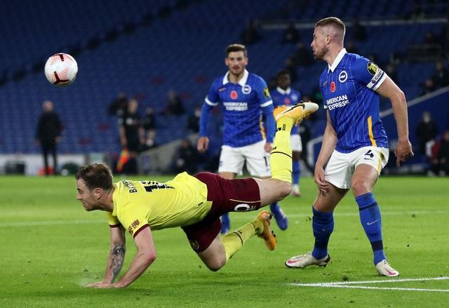 Neither side could find a breakthrough at the Amex Stadium