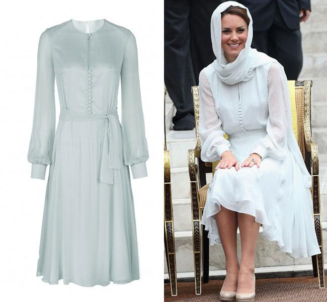 The Kate Middleton Effect? Harvey Nichols Are Selling Beulah Dress The Duchess Wore On Asia Tour