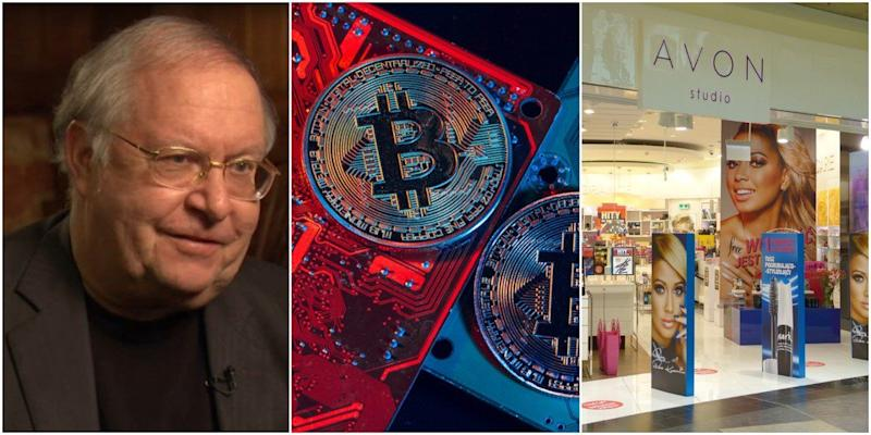 Bill Miller, a former Legg Mason executive, scored a 46% return year-to-date in 2019, and it's all thanks to bitcoin and beauty products. | Source: WealthTrack/YouTube (i), Shutterstock (ii/iii). Image Edited by CCN.