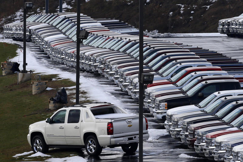 GM to roll out new line of smaller pickups