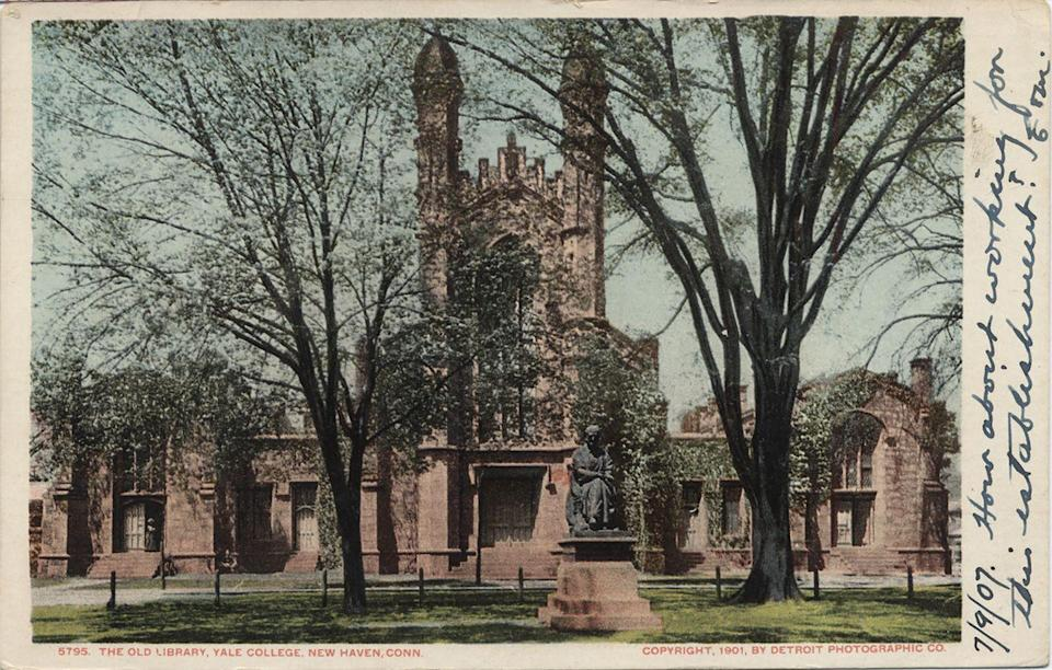 """<p><strong>Established in 1701</strong></p><p><strong>Location: New Haven, Connecticut <br></strong></p><p>Although it was founded in 1701, <a href=""""https://www.yale.edu/about-yale/traditions-history"""" rel=""""nofollow noopener"""" target=""""_blank"""" data-ylk=""""slk:Yale"""" class=""""link rapid-noclick-resp"""">Yale</a> can be traced back to the 1640s, when colonial clergymen wanted to found a college to preserve the tradition of European liberal education in what would later become America. The charter wasn't granted until 1701, and it became Yale College in 1718. </p>"""