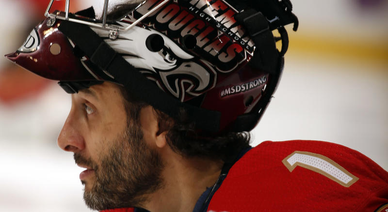 Panthers Luongo To Honor High School Shooting Victims