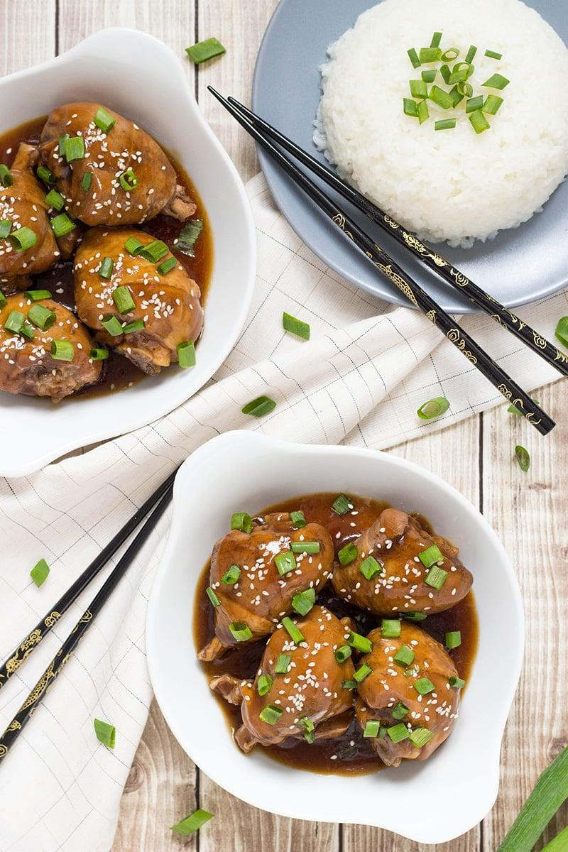 "<p>For those in Idaho in search of a quick shoyu chicken recipe, here you go! This dish can be made in half an hour, meaning you can eat in no time. Just let the chicken simmer in a soy-based sauce and serve it with white rice.</p> <p><strong>Get the recipe</strong>: <a href=""https://cookingtheglobe.com/hawaiian-shoyu-chicken-recipe/"" class=""link rapid-noclick-resp"" rel=""nofollow noopener"" target=""_blank"" data-ylk=""slk:shoyu chicken"">shoyu chicken</a></p>"