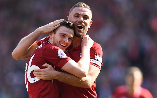 """Andrew Robertson might be an object of adulation at Anfield now but no Kop stalwart can look him in the face and say – if one may borrow from Harry Enfield's predatory shopkeeper – 'I saw you coming!' Robertson's credentials, after all, initially underwhelmed followers of a club who would pay £75 million to make Virgil van Dijk the world's most expensive defender. Acquired last summer from newly relegated Hull City and with an international pedigree gained with Scotland – a team excluded from the finals of major tournaments for 20 years – Robertson's £8 million transfer represented the sort of loose change Liverpool reserve for squad players. Now, however, as Jurgen Klopp's players prepare for Saturday's Champions League final in Kiev, the full-back is second only to Mohamed Salah as steal of the season. One man, though, did see it coming – or, at least, he guessed something of the sort. Gardner Speirs, now in charge of the Queen's Park academy at Hampden Park, base of the only amateur club in British senior football, was the Spiders' first team manager and in charge of summer preparations for the 2012-13 campaign. Speirs, formerly a midfielder with St Mirren, Hartlepool and Airdrie, had to address a gap in his squad. """"We were due to go down to Largs on the Clyde coast to play a couple of matches inside four days but we didn't have a left-back,"""" Speirs said. """"Andrew was just finishing a season with the under-17s, so we took him and that's how it happened."""" What might have counted as an innocuous promotion for a teenager was, in fact, an act of rehabilitation for Robertson, who had played for Celtic's youth teams but was judged not to be of the quality required at Parkhead. """"Andy left Celtic when he was about 15 and came into our academy and, obviously, kids can react to the disappointment of leaving such a big club in a number of ways,"""" Speirs said. Robertson celebrates making it to the Champions League final Credit: Getty images """"Andy's response was to say, 'I'll p"""