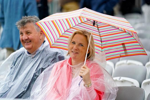Wet weather once again frustrated spectators at Lord's (John Walton/PA)