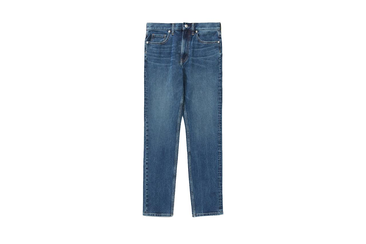 """$68, Everlane. <a href=""""https://www.everlane.com/products/mens-slim-fit-performance-jean-fremont"""">Get it now!</a>"""