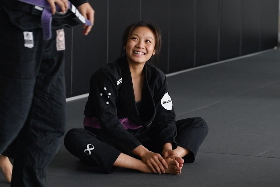 Constance Lien grappled with confidence issues and eating disorders when she was a swimmer in her younger days. (PHOTO: Stefanus Ian/Yahoo News Singapore)