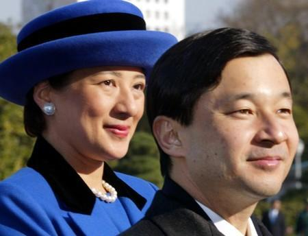 FILE PHOTO: Japan's Crown Princess Masako is seen with her husband Crown Prince Naruhito in Tokyo