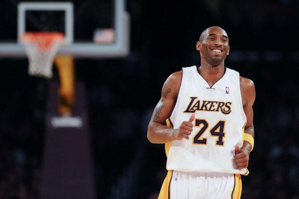 PHOTO: Kobe Bryant #24 of the Los Angeles Laker smiles while backpedaling on defense against the Minnesota Timberwolves at Staples Center on December 14, 2008 in Los Angeles, California. (Noah Graham/NBAE via Getty Images)