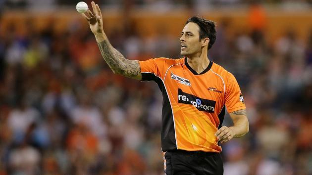 Johnson re-signs with Scorchers in BBL