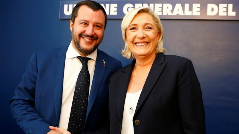 How far can Le Pen's, Salvini's wish for a far-right grand alliance in EU parliament go?