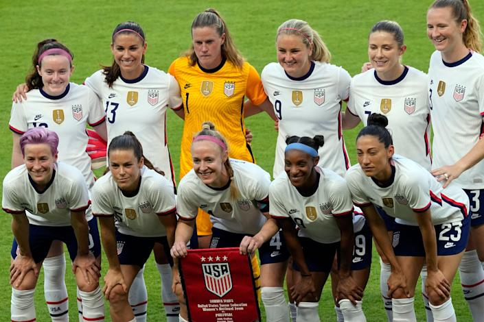 """The U.S. women's national team appealed the decision to dismiss their equal pay lawsuit, arguing that the judge's ruling """"defies reality."""""""