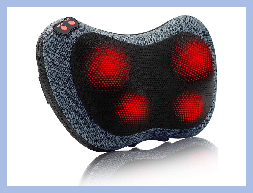 Long day at work? Lay your poor neck on this massager. (Photo: Amazon)