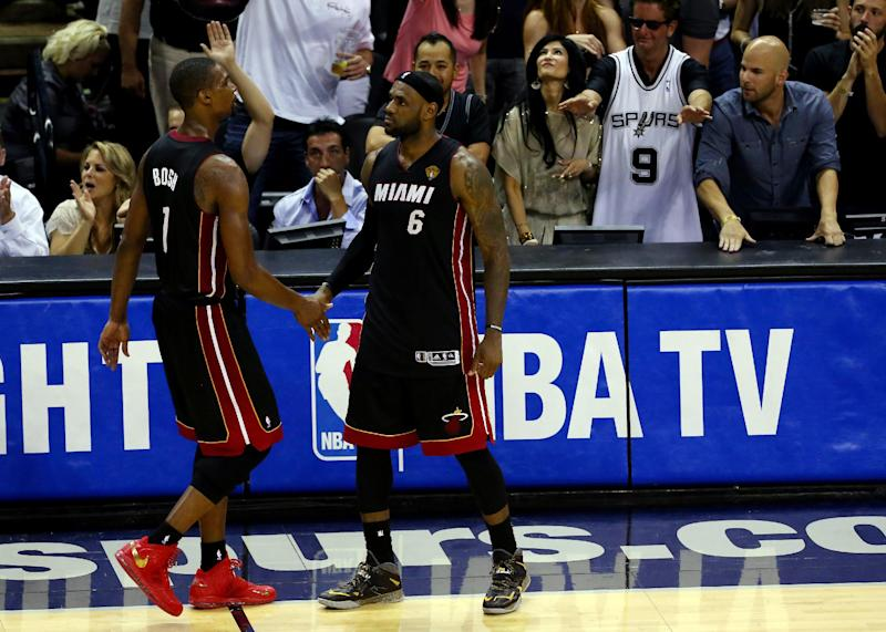 Miami's Chris Bosh says Heat season was a grind