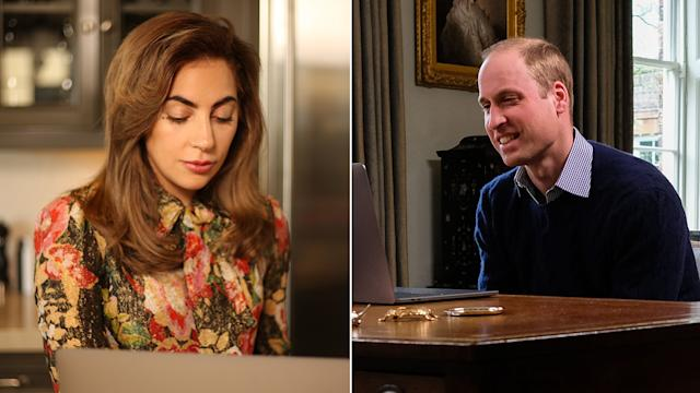 Prince William and Lady Gaga join forces
