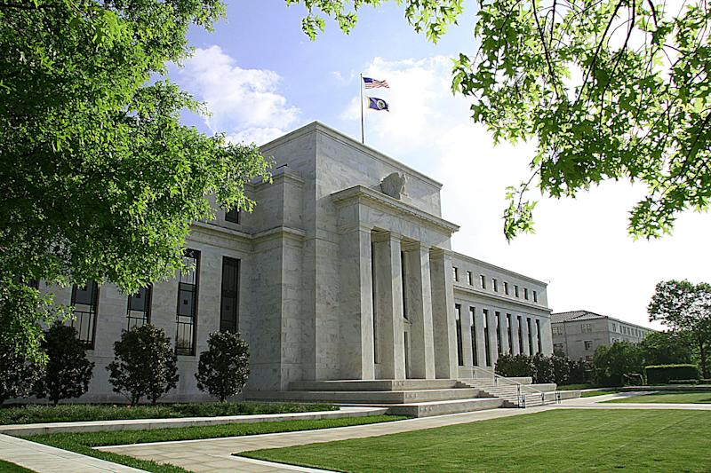 The US Federal Reserve Building in Washington is pictured May 4, 2008 (AFP Photo/Karen Bleier )