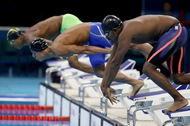 Robel Kiros Habte is still recovering from a car crash that forced him to stop swimming for two months. (Photo: Getty)