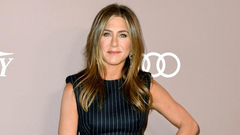 Jennifer Aniston Reacts to the Possibility of Former 'Friends' Co-Stars Joining 'The Morning Show' (Exclusive)
