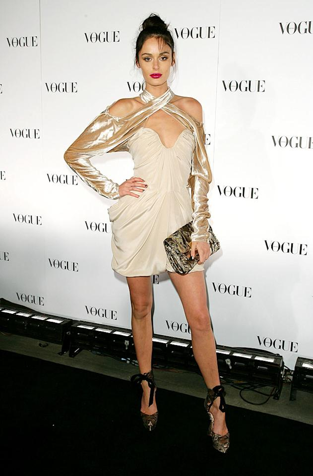 "She may be the current co-host of Bravo's ""Make Me a Supermodel,"" but that doesn't mean Aussie catwalker Nicole Trunfio has a decent sense of style. Why? Just look at this ludicrous Louis Vuitton getup. Don Arnold/<a href=""http://www.wireimage.com"" target=""new"">WireImage.com</a> - July 31, 2009"