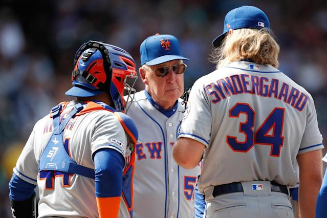 Phil Regan has realistic outlook on future as Mets pitching coach