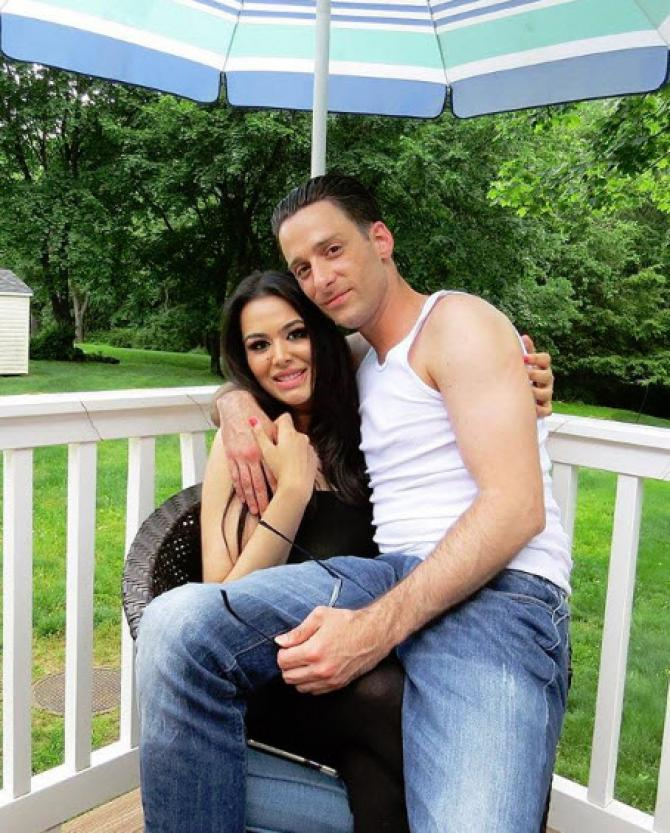 Trishala Dutt and her late boyfriend