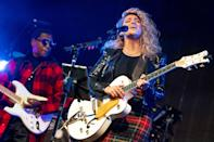 <p>Tori Kelly performs with Babyface at City National Grove of Anaheim on Monday in Anaheim, California. </p>