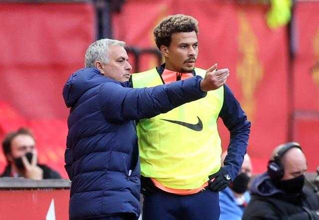 Mourinho has frozen Alli out of the squad at Tottenham this season