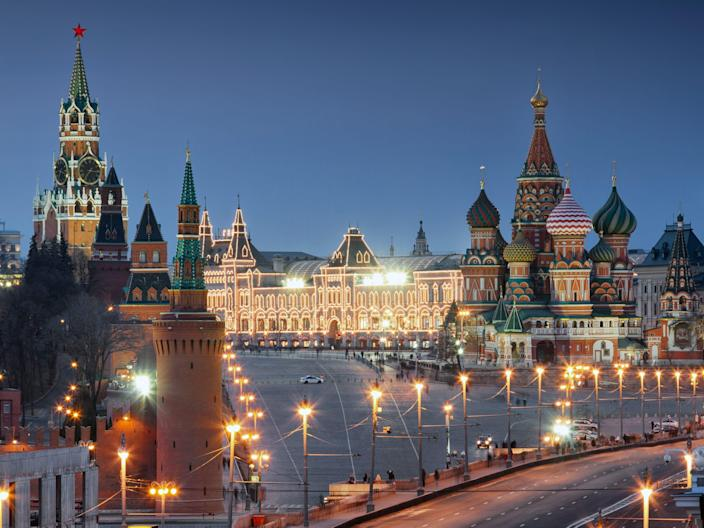red square moscow kremlin