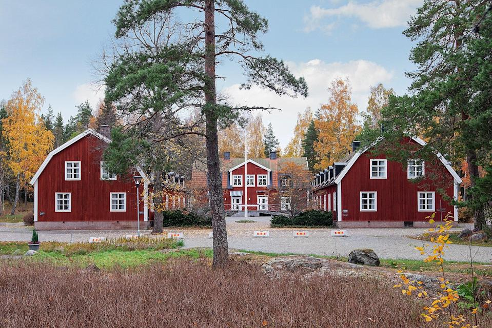 Picture-perfect: Sätra Brunn, a 320-year-old spa village in Sweden, is on the market for £6mResidence, affiliate of Christie's International Real Estate