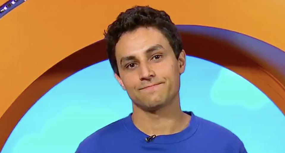 CBeebies presenter Ben Cajee delivered an emotional message to his young viewers. (BBC)