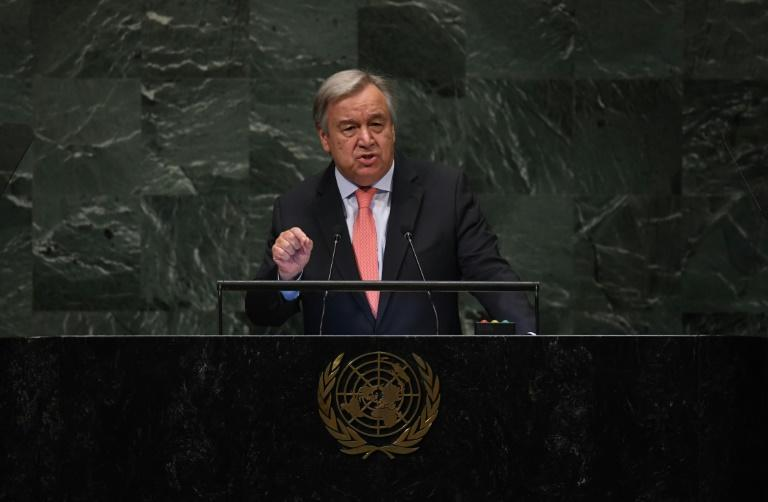 World order increasingly chaotic, says UN chief