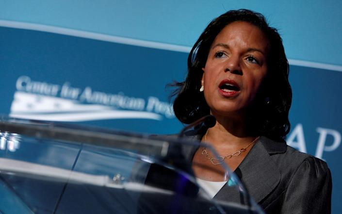 Susan Rice, Barack Obama's former national security adviser, is a popular candidate among Democrats - REUTERS