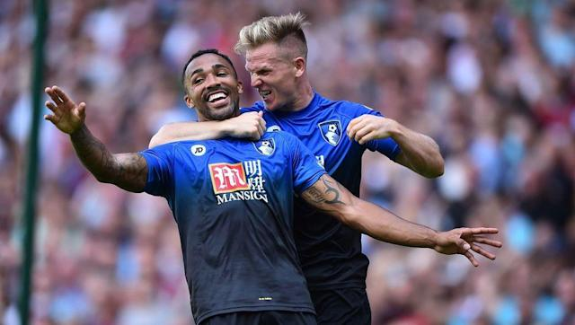 <p><strong>22nd August 2015 vs West Ham United</strong></p> <br><p>After two narrow defeats to kick off their first ever top flight campaign in 2015/16, Bournemouth saved the goals for a stunning 4-3 win over West Ham in their third Premier League game.</p> <br><p>Callum Wilson scored the Cherries' first goal of the day, and the season, after 11 minutes and had doubled his tally within half an hour. Marc Pugh also scored and Wilson's decisive hat-trick goal came from the penalty spot with just over 10 minutes left on the clock.</p>