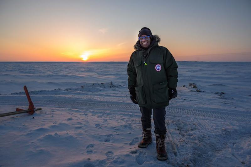Al Roker in Utqiagvik, Alaska | Nathan Congleton/NBC TODAY