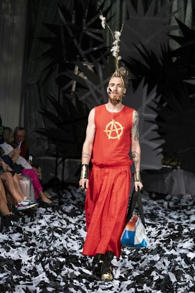 Anarchy in the London fashion show