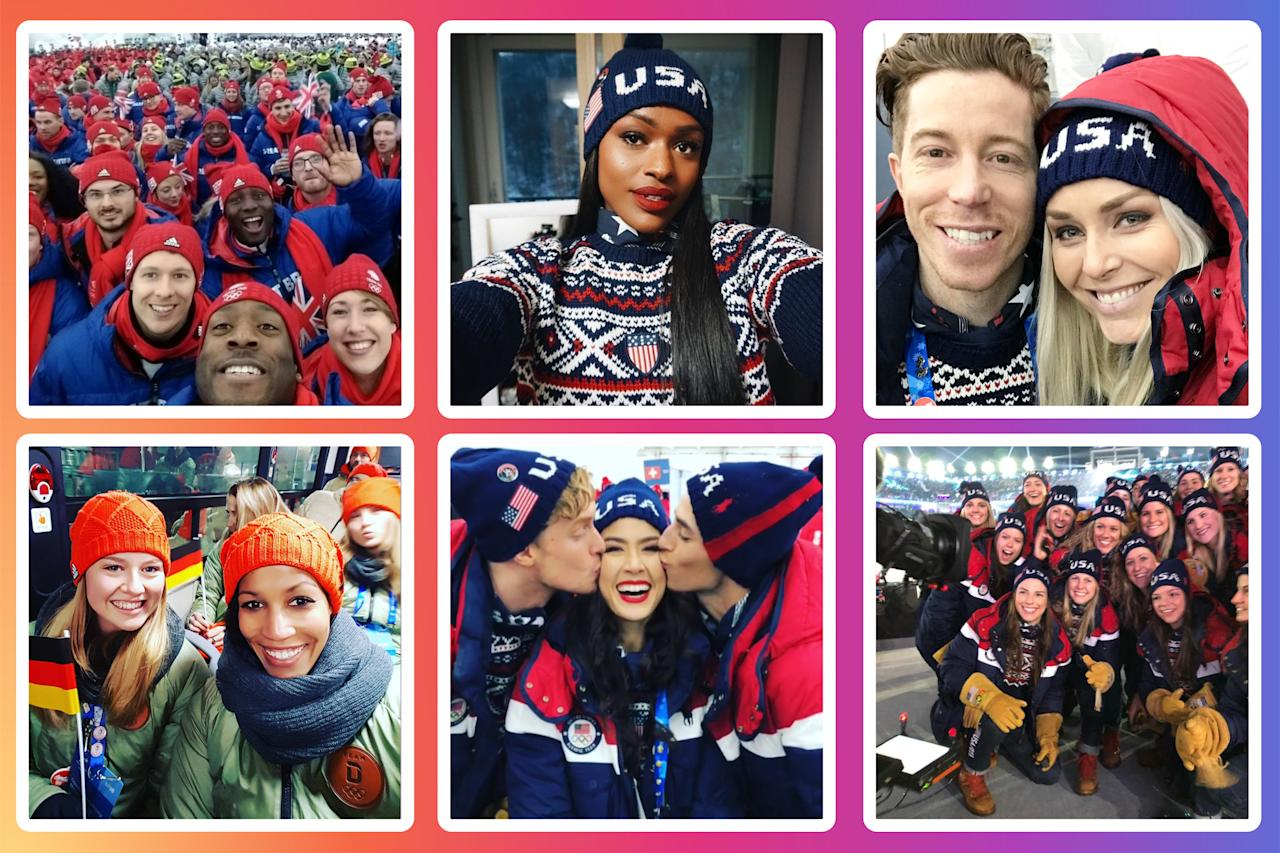 <p>Take a look at the best social media posts from the Olympians in PyeongChang. </p>