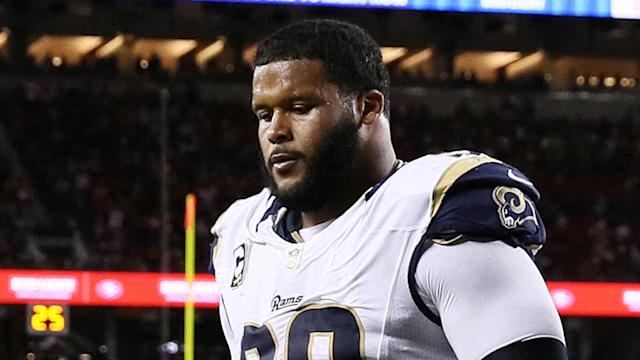 The Rams became the first team to officially exercise an option Wednesday when they picked up Donald's fifth year.