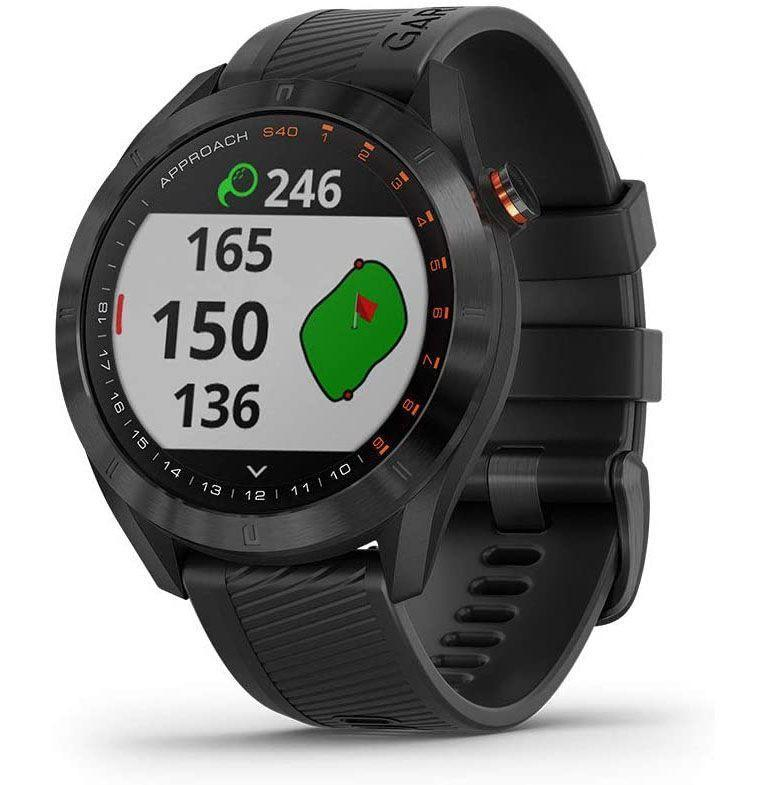 """<p><strong>Garmin</strong></p><p>amazon.com</p><p><strong>$189.99</strong></p><p><a href=""""https://www.amazon.com/dp/B07PKQT23Q?tag=syn-yahoo-20&ascsubtag=%5Bartid%7C10054.g.36716381%5Bsrc%7Cyahoo-us"""" rel=""""nofollow noopener"""" target=""""_blank"""" data-ylk=""""slk:Shop"""" class=""""link rapid-noclick-resp"""">Shop</a></p><p><strong>Save 37% with Prime</strong></p><p>For the data-minded <a href=""""https://www.esquire.com/lifestyle/g948/golf-gifts/"""" rel=""""nofollow noopener"""" target=""""_blank"""" data-ylk=""""slk:golfer"""" class=""""link rapid-noclick-resp"""">golfer</a> within.</p>"""