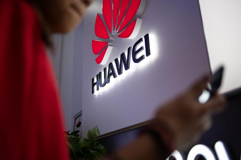 Huawei could help with 'non-core' parts of the infrastructure (AFP/Getty Images)