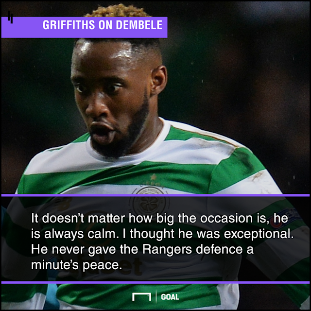 The youngster put up an all-round performance against Graeme Murty's men and the 27-year-old has praised the attacker's effort