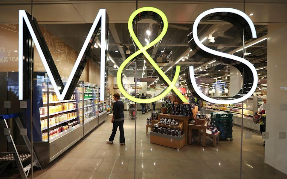 M&S will close six shops by the end of April and is considering shutting eight more.