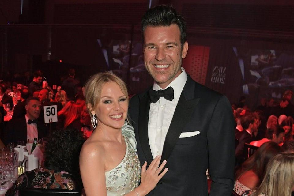 Kylie Minogue and Paul Solomons have been together for three and a half years  (Dave Benett/Getty Images for HUG)